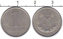 Изображение Монеты ГДР 1 пфенниг 1979 Алюминий XF