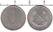 Изображение Монеты ГДР 1 пфенниг 1981 Алюминий XF А