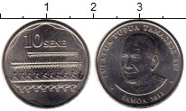 Изображение Монеты Самоа 10 сене 2011 Медно-никель UNC-