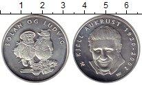 Изображение Монеты Норвегия Жетон 2002 Серебро UNC