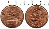 Изображение Монеты Мексика 20 сентаво 1970 Бронза UNC-