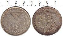 Изображение Монеты Северная Америка США 1 доллар 1881 Серебро XF-