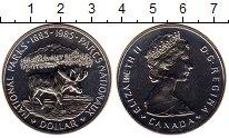 Изображение Монеты Канада 1 доллар 1985 Серебро UNC-