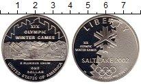 Изображение Монеты Северная Америка США 1 доллар 2002 Серебро Proof