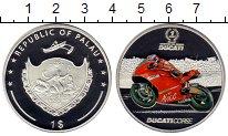 Изображение Монеты Палау 1 доллар 2009 Серебро Proof Мотогонки, Дукати