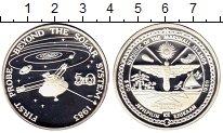 Изображение Монеты Маршалловы острова 50 долларов 1989 Серебро Proof Космос, Первая попыт