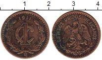 Изображение Монеты Северная Америка Мексика 1 сентаво 1911 Бронза VF