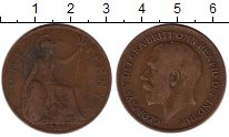 Изображение Монеты Европа Великобритания 1 пенни 1914 Бронза VF