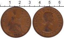 Изображение Монеты Европа Великобритания 1 пенни 1962 Бронза XF