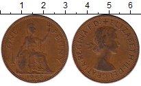Изображение Монеты Европа Великобритания 1 пенни 1963 Бронза XF