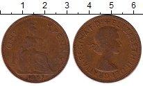Изображение Монеты Европа Великобритания 1 пенни 1963 Бронза VF