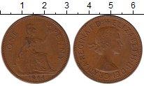 Изображение Монеты Великобритания 1 пенни 1964 Бронза XF