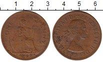 Изображение Монеты Европа Великобритания 1 пенни 1967 Бронза VF