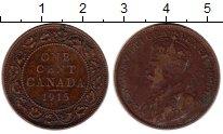 Изображение Монеты Канада 1 цент 1915 Бронза VF