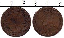 Изображение Монеты Северная Америка Канада 1 цент 1918 Бронза VF
