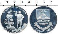 Изображение Монеты Австралия и Океания Кирибати 5 долларов 1996 Серебро Proof-
