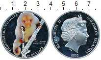 Изображение Монеты Австралия и Океания Соломоновы острова 10 долларов 2010 Серебро Proof-