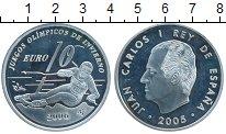 Изображение Монеты Испания 10 евро 2005 Серебро Proof-