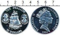 Изображение Монеты Австралия и Океания Соломоновы острова 10 долларов 1994 Серебро Proof-