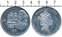 Изображение Монеты Токелау 5 тала 1989 Серебро Proof-