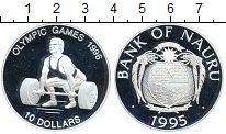 Изображение Монеты Австралия и Океания Науру 10 долларов 1995 Серебро Proof-