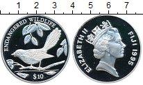Изображение Монеты Фиджи 10 долларов 1995 Серебро Proof- Сохранение животного