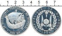 Изображение Монеты Африка Джибути 100 франков 1996 Серебро Proof-