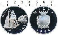 Изображение Монеты Европа Мальта 5 лир 1994 Серебро Proof-