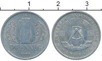 Изображение Дешевые монеты ГДР 1 пфенниг 1980 Алюминий VF