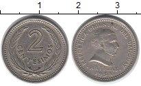 Изображение Монеты Южная Америка Уругвай 2 сентесимо 1953 Медно-никель XF