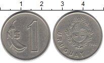 Изображение Монеты Южная Америка Уругвай 1 песо 1980 Медно-никель XF