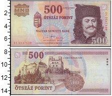 Изображение Банкноты Европа Венгрия 500 форинтов 2010  UNC