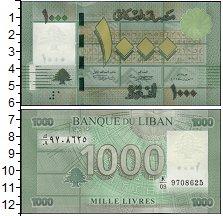 Изображение Банкноты Азия Ливан 1000 ливр 0  UNC