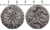 Изображение Мелочь Австрия 5 евро 2008 Серебро UNC