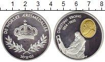 Изображение Монеты Норвегия Медаль 2002 Серебро Proof- Кристиан  Крог
