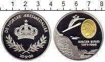 Изображение Монеты Норвегия Медаль 2000 Серебро Proof- Биргер  Рууд