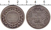 Изображение Монеты Тунис 2 франка 1916 Серебро VF