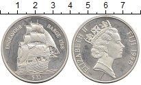 Изображение Монеты Фиджи 10 долларов 1998 Серебро Proof-