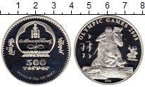 Изображение Монеты Азия Монголия 500 тугриков 2006 Серебро Proof