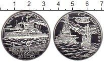 Изображение Монеты Австрия 20 евро 2006 Серебро Proof