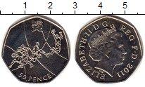 Изображение Мелочь Великобритания 50 пенсов 2011 Медно-никель UNC