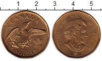 Изображение Монеты Канада 1 доллар 2008 Латунь UNC- Олимпийские игры
