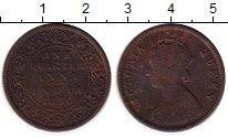 Изображение Монеты Азия Индия 1/4 анны 1876 Медь XF