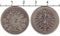 Изображение Монеты Германия 1 марка 1874 Серебро VF D