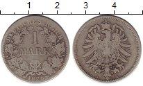 Изображение Монеты Германия 1 марка 1876 Серебро VF A