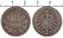 Изображение Монеты Европа Германия 1 марка 1876 Серебро VF