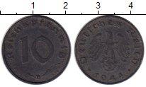 Изображение Монеты Третий Рейх 10 пфеннигов 1944 Цинк XF