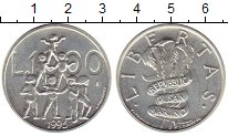 Изображение Монеты Европа Сан-Марино 1000 лир 1995 Серебро UNC-