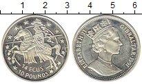 Изображение Монеты Великобритания Гибралтар 14 экю 1991 Серебро UNC-