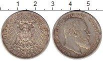 Изображение Монеты Германия Вюртемберг 2 марки 1904 Серебро VF